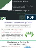 Cumbre de Johannesburgo 2002