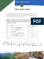Overland Track - Walk Notes