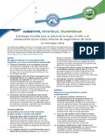 2018 EWECGSMonitoringReport 4 Page Leaflet ESP