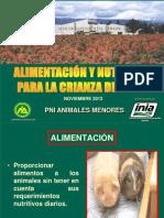 Nutricion y Alimentacion Cuyes Andahuaylas
