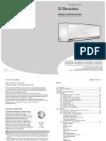 Manual Split Electrolux