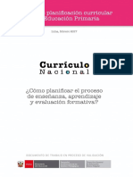 Cartilla Planificacion Curricular
