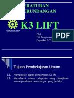 k3 Lift Tosiba