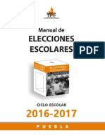 Manual Elecciones Escolares 2016