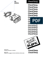 CheckTemp Manual