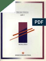 latinI materiales didacticos bachillerato. (libro latin)