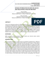 PROCESS PARAMETERS OPTIMIZATION IN EDM FOR AISI D3 STEEL BY GREY RELATIONAL ANALYSIS METHOD