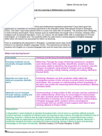 unitplanner science- emma de cure