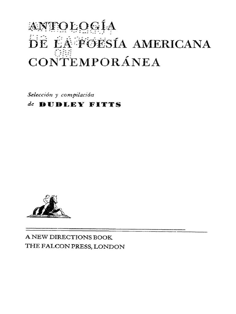 Anthology of Contemporary Latin-American Poetry  9a65078ac71