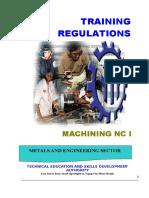 TR - Machining NC I
