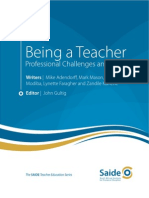 Being a Teacher Guide