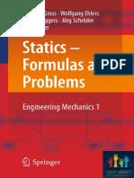 Gross - Statics - Formulas and Pr