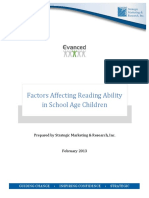 Factors Affecting Reading Ability White Paper