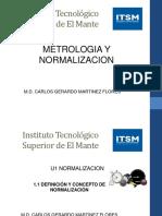 u1 Metrologia y Normalizacion