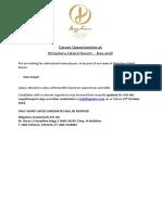 012- Career Opportunities at Dhigufaru Island Resort