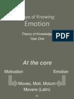 1.Emotion