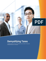 Demystifying Taxes