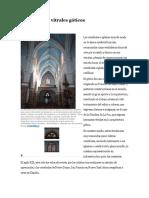 El arte de los vitrales góticos.docx
