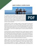 MONITORUL DE PETROL SI GAZE articol
