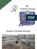 8D - Problem Solving