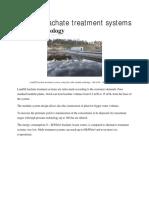 ocedne vode deponije