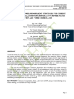 INSTANTANEOUS POWER AND CURRENT STRATEGIES FOR CURRENT HARMONICS CANCELLATION USING SHUNT ACTIVE POWER FILTER WITH PI AND FUZZY CONTROLLERS