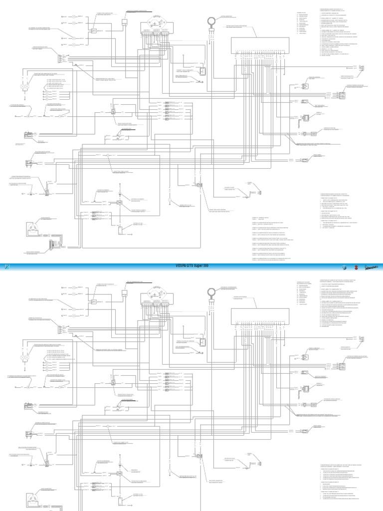 vespa gts300 super wiring diagram
