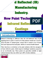 Infrared Reflected (IR) Paint Manufacturing Industry
