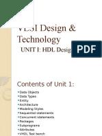 Unit i Hdl Design