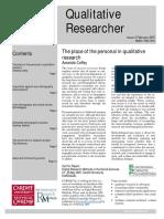 Qualitativee Researcher