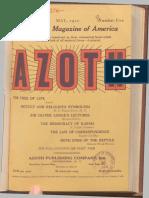 Azoth May_1920