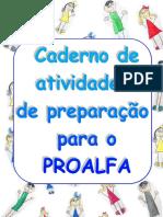 Caderno Atividades Preparacao PROALFA 2017