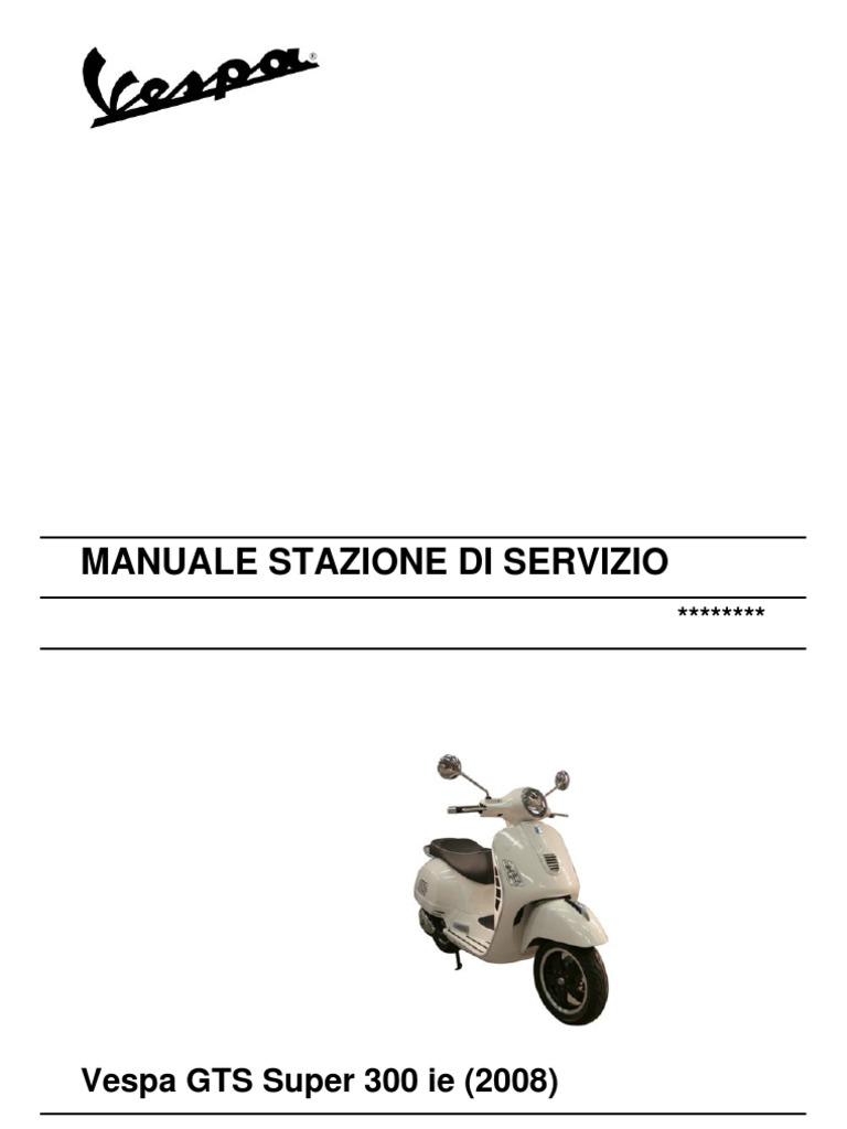 vespa excel manual book pdf