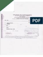 14. Certificado de Contadores