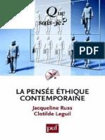 La pensee ethique contemporaine - Russ Jacqueline, Leguil Clotild.pdf