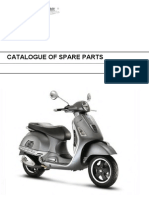 Vespa GTS300 Super Sport Parts Diagram