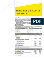 Ey Hong Kong 2018 19 Budget Tax Facts En