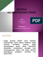 Presentation Decomp Cordis