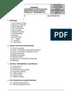 Pets-001-Movilizacion y Desmovilizacion de Materiales