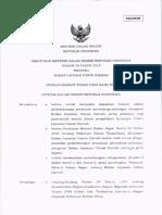 Permendagri No. 79 Tahun 2018