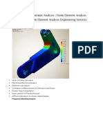 Types of Finite Element Analysis