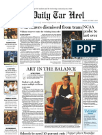 The Daily Tar Heel for October 8, 2010