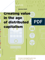 Creating Value in the Age of Distributed Capitalism