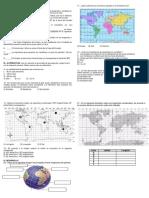 Responde Las Siguientes Actividades Historia Coordenadas Geograficas