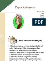 Tarian Dayak Kalimantan
