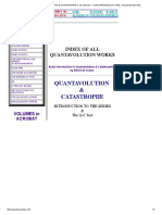 QUANTAVOLUTION & CATASTROPHE in 15 Volumes + CONCORDANCES (in HTML, Acrobat & Plain-text)
