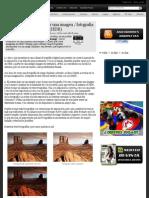 Como crear una imagen - fotografia en High Dynamic Range (HDR)