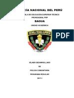 Asignatura Policia Comunitario Agosto-2018