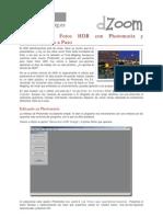 Tutorial para Fotos HDR con Photomatix y Photoshop paso a paso