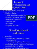 85696_Lecture 3 - Validity of Screening & Dx Tests (Sept 7)